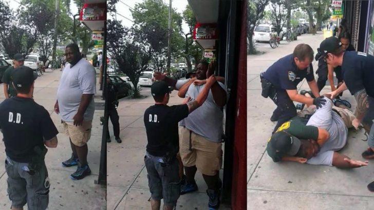 Op 17 juli 2014 werd de ongewapende zwarte Amerikaan Eric garner gewurgd, door agenten. Terwijl hij zich had overgegeven en slechts vroeg -vanuit zijn rechtvaardigheidsgevoel- wat er aan de hand was. Een paar minuten later was hij dood. (Of is 'vermoord' een beter woord..?)