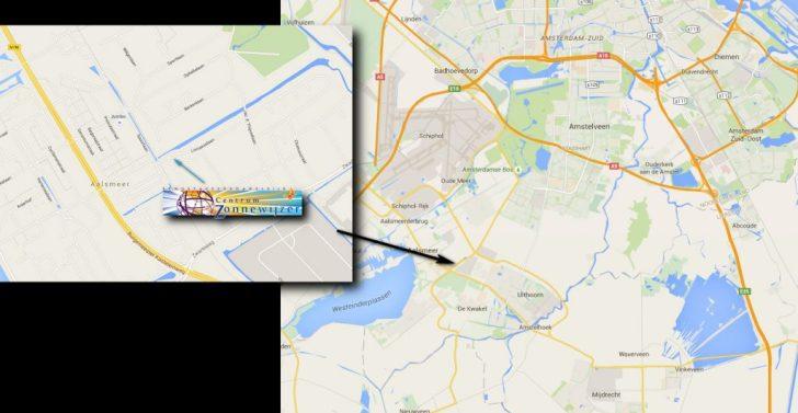 centrum zonnewijzer aalsmeer map
