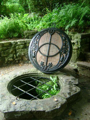 De Chalice Well. (foto: Herbert van Erkelens).