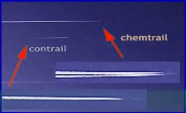 chemtrail contrail verschil