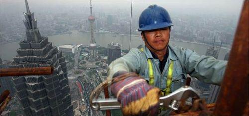 Ondanks de economische groei van rond de 10% jaarlijks, blijft China in zijn ecologisch voetafdruk op de wereld een 'kleintje'!