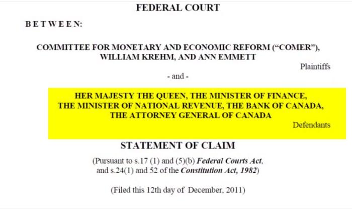 claim canada finance