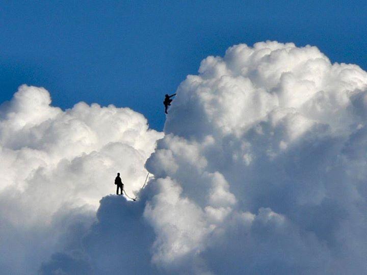 climbers mountain