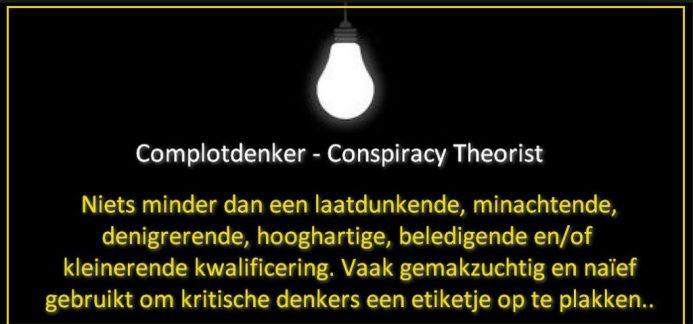 complotdenker conspiracy