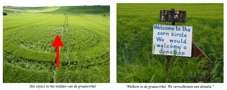 crop circle welcome a donation