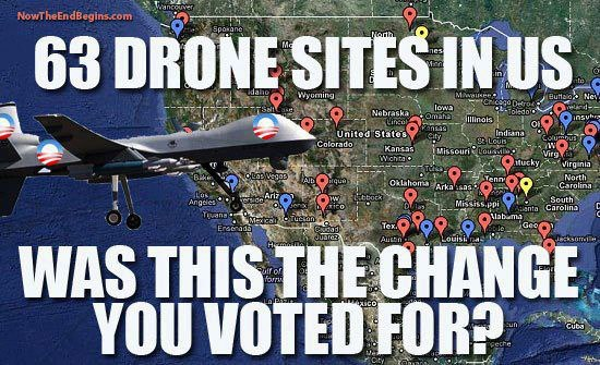 drones in USA