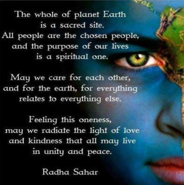 earth peace and together