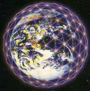 Het elektromagnetisch raster van de Aarde kan worden gevisualiseerd als een serie magnetische krachtlijnen met daarin ingebed onzichtbare scalaire of aetherische energie.