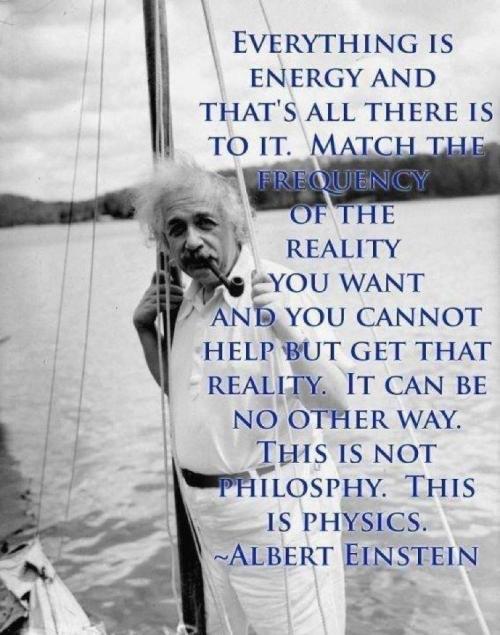 einstein energy reality