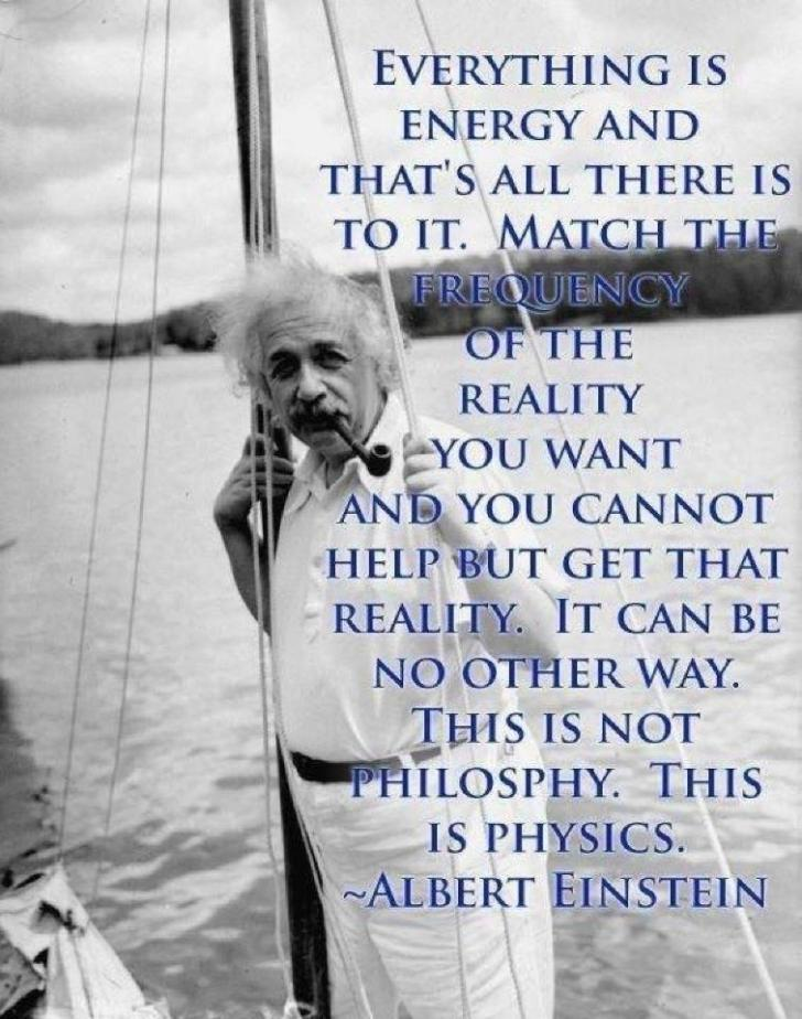 einstein energy reality
