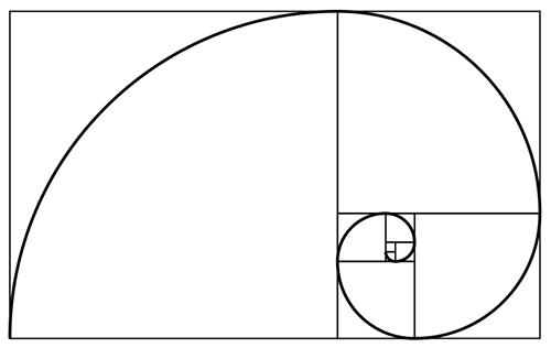 De Fibonacci-spiraal