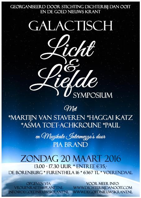 ggalactisch licht & liefde symposium