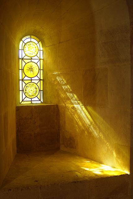 glas in lood licht