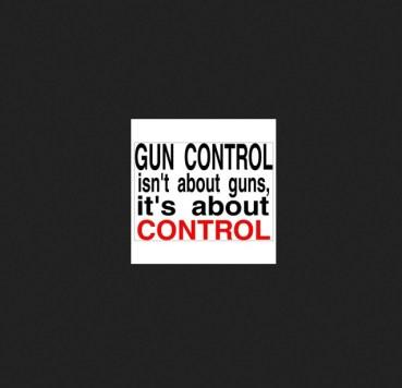 gun control is control