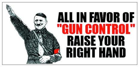 gun control nazi groet