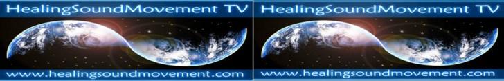 healing sound movement logo band