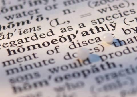 homeopathie woordenboek