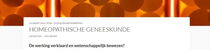 homeopathische TU Delft