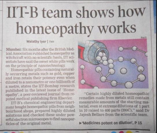 Al veel vaker is er -op kleine schaal- overeenstemming over de daadwerkelijke essentie van de werking van homeopathie. Een wereldwijde doorbraak lijkt nabij.