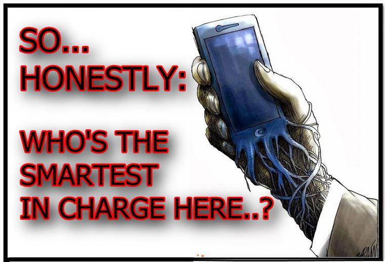 Gedachten bij de 'smart'-phone zombie-mens…
