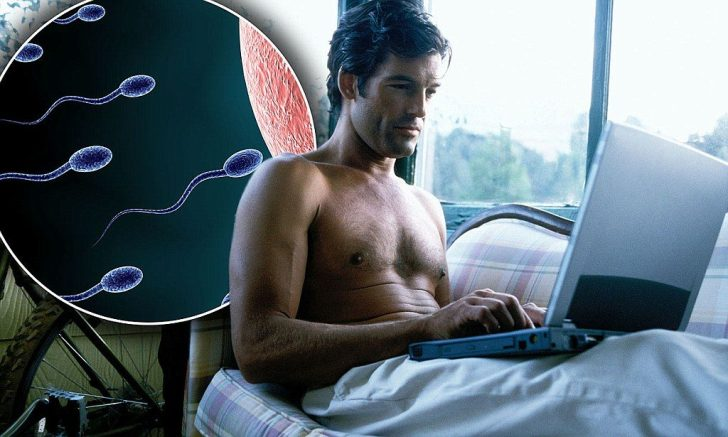 Wat een toeval..? Ook die laptop preciés op plekken die onze voortplanting betreffen.. Think about it..