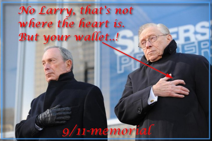 larry silverstein wallet heart