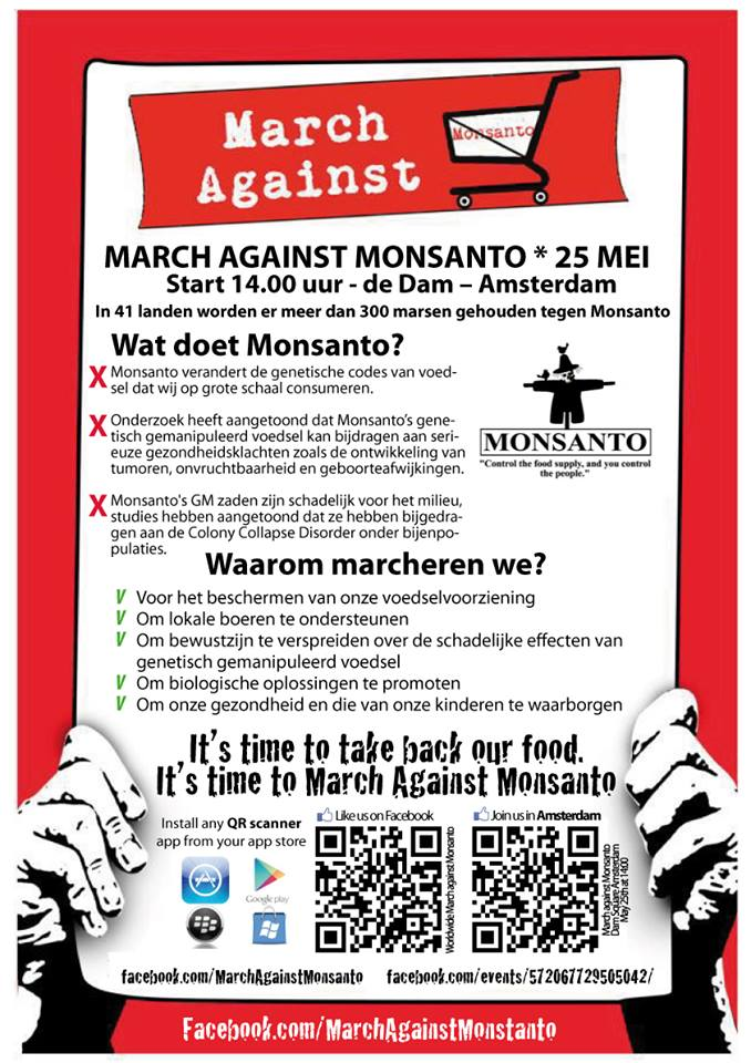 march against monsanto amsterdam