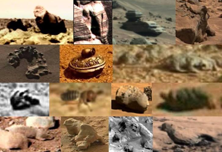 Veel van de foto's die officieel door de NASA zijn vrijgegeven, bevatten uiterst merkwaardige anomalieën.