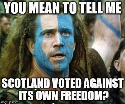mel gibson scottish freedom