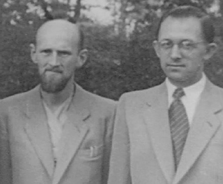 Mirin Dajo en zijn maatje Jan Dirk de Groot