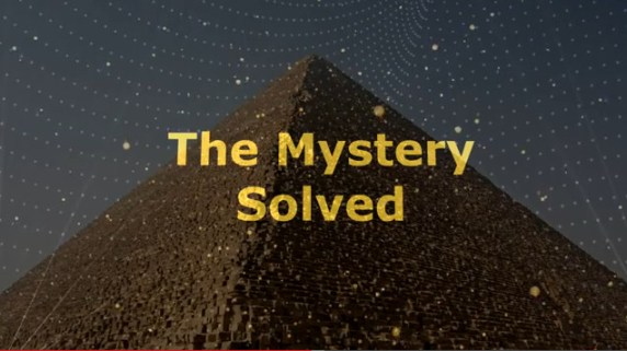 mystery solved great piramid