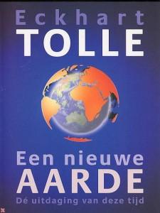 De cover van het boek van Eckart Tolle; een aanrader.