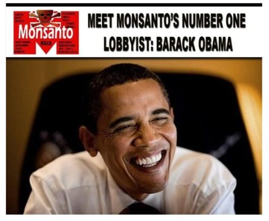 obama monsanto lobby