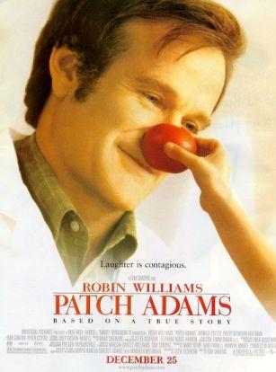 Robin Williams in de rol van Patch Adams, meesterlijk!