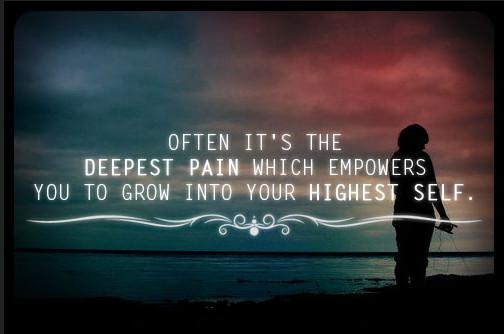 pijn groeien