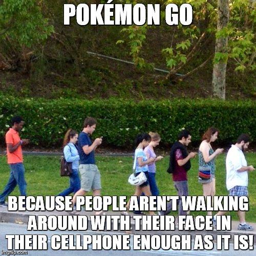 pokemon GO weggetoverd door je smartphone