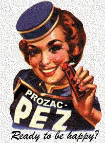Een kinderprozac'je... 'Ready to be happy?'...