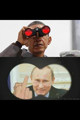 putin obama finger