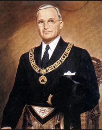 oud-VS-president Franklin Delano Roosevelt was een van de bekende Vrijmetselaars.