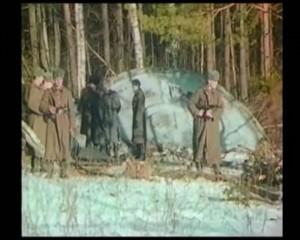 UFO crash in Rusland in 1969 (Foto is tevens link)