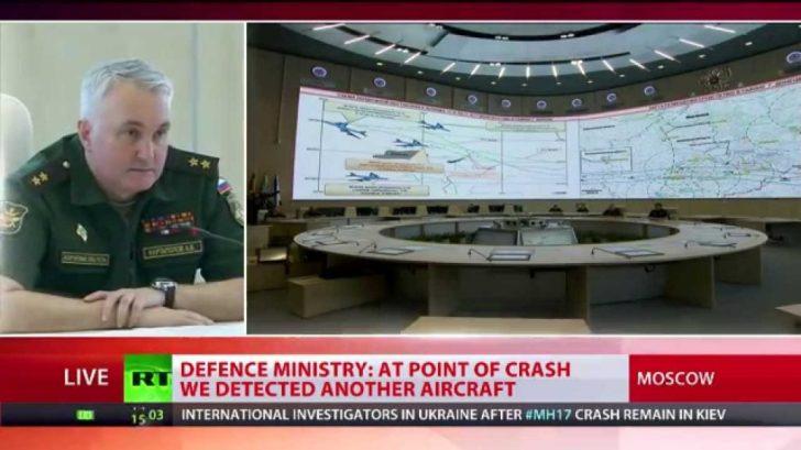 russische persconferentie MH17
