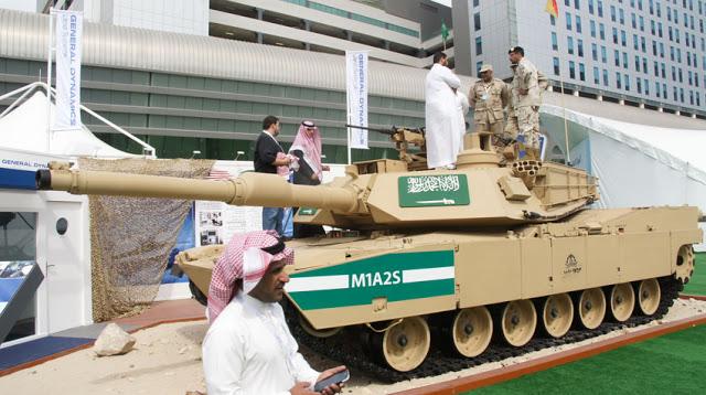 De hobby van de regering van VS-partner Saudi Arabië, lijkt steeds meer, om het oliegeld-miljarden vooral te besteden aan.. wapens.. En de VS-partner is maar wat bereid om als leverancier te fungeren..