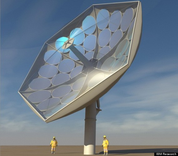 solar power IBM