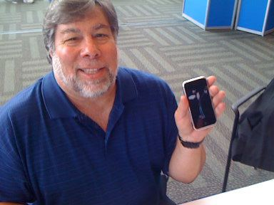 Apple-oprichter Steve Wozniak.