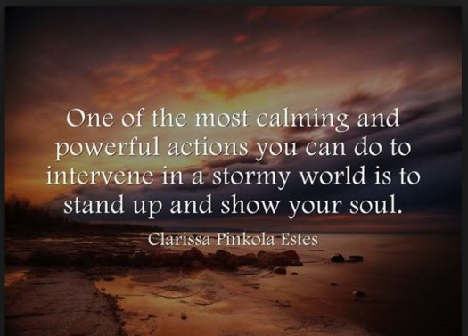 stormy world quote