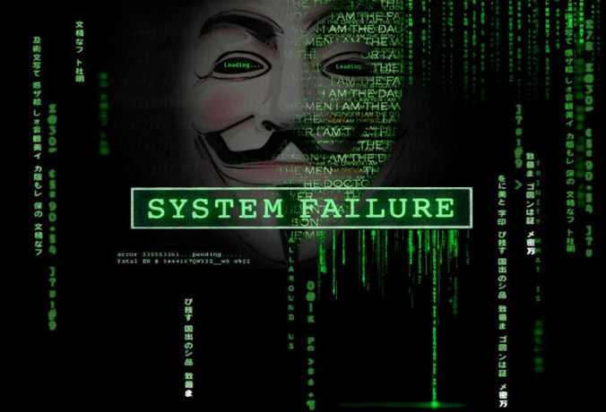 system failure anonymous