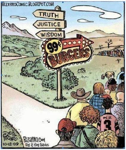 truth justice burgers 99c
