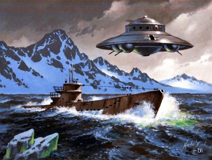 ufo nazi antarctica
