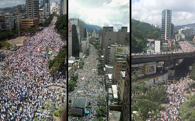venezuela-food-protesten
