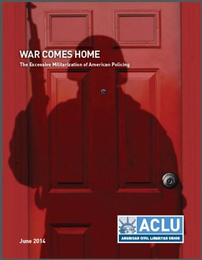De cover van het rapport van ACLU (klik voor download (pdf))